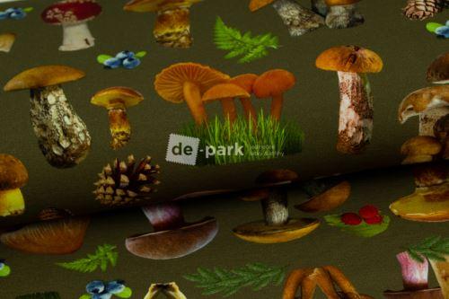 DESIGNED BY DE-PARK - Teplákovina - Houbičky
