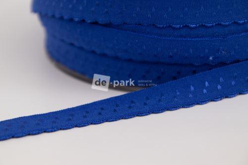 Lemovací pruženka na spodní prádlo - královsky modrá