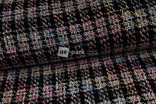 Kabátovina - Barevné kostičky - colors