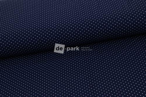 Úplet - Mini puntíčky - tmavě modrá