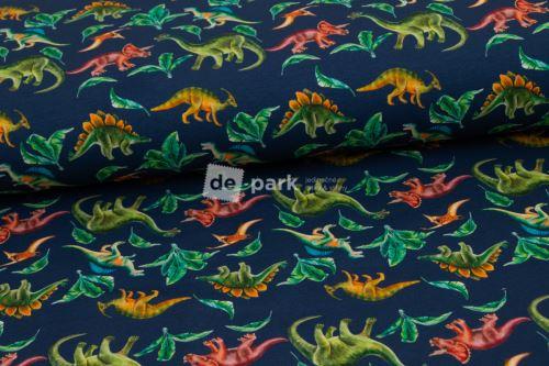 Teplákovina - Dinosauři na modré