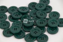DE-PARK knoflíky - 2cm - lahvově zelená