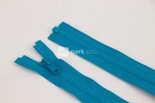 Zip YKK - 60cm - tyrkysový dělitelný