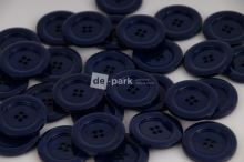 DE-PARK knoflíky - 3cm - černomodrá 549