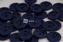 DE-PARK knoflíky - 3cm - tmavě  modrá