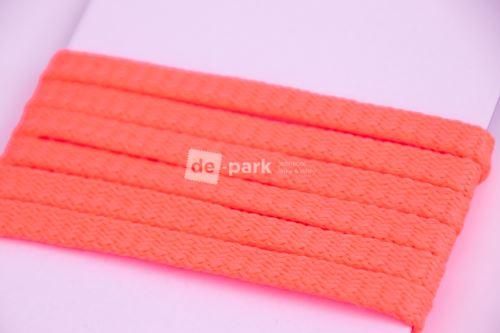 Šňůra - neon růžovooranžová