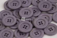 DE-PARK knoflíky - 2cm - šedá