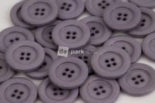 DE-PARK knoflíky - 3cm - šedá