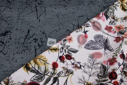 DESIGNED BY DE-PARK - Obojstranné letné softshell - betón so šípkami