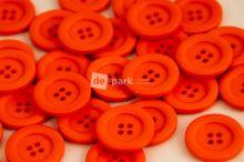 DE-PARK knoflíky - 2cm - pomerančová
