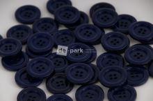 DE-PARK knoflíky - 2cm - tmavě modrá