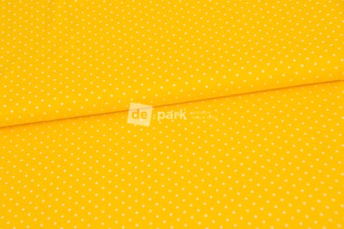 Úplet - Mini puntíčky - žlutá - II. jakost