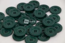 DE-PARK knoflíky - 3cm - lahvově zelená