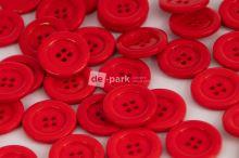 DE-PARK knoflíky - 2cm - červená