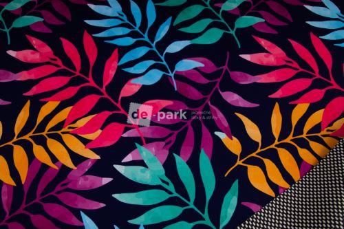 DESIGNED BY DE-PARK - Jarné softshell 18/12 - Dúhové listy