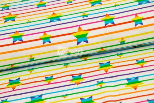 Úplet - Duhová kolekce - Hvězdičky