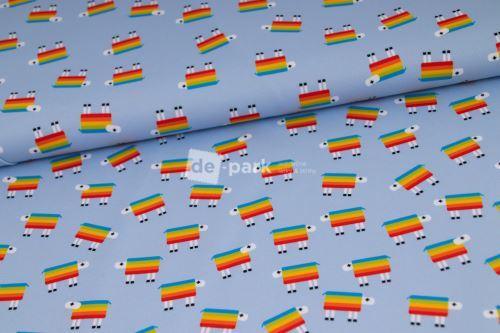 DESIGNED BY DE-PARK - Letní softshell - Ovečky z Déčka - drobné