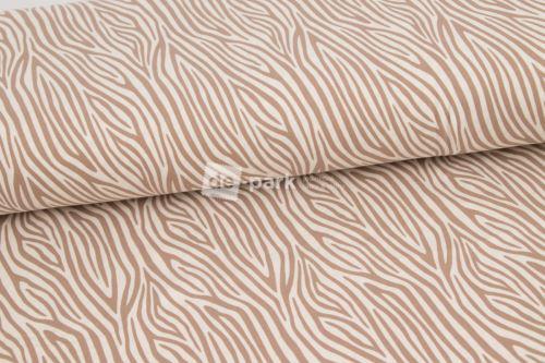 Úplet - Béžová kolekce - zebra