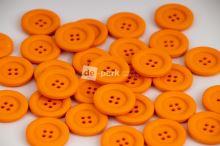 DE-PARK knoflíky - 2cm - oranžová