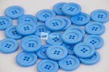 DE-PARK knoflíky - 2cm - světle modrá