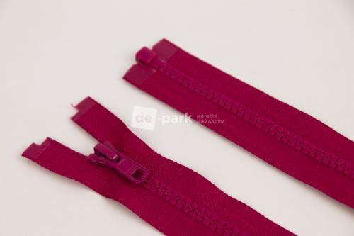 Zip YKK - kostěný dělitelný - ostružinová - 438