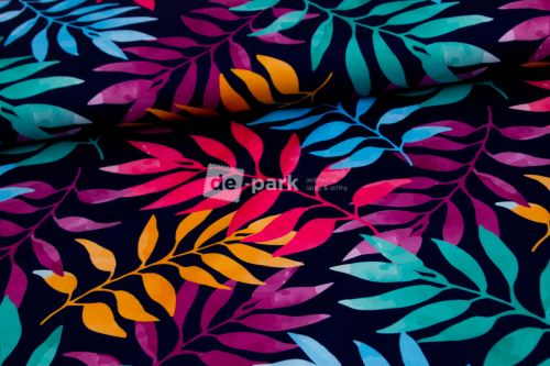 DESIGNED BY DE-PARK - Push up úplet na legíny - Duhové listy
