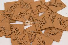 Koženkový štítek - VÁŽKA - velbloudí